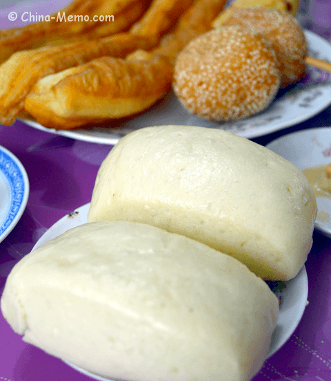 Chinese Breakfast: Steamed Buns