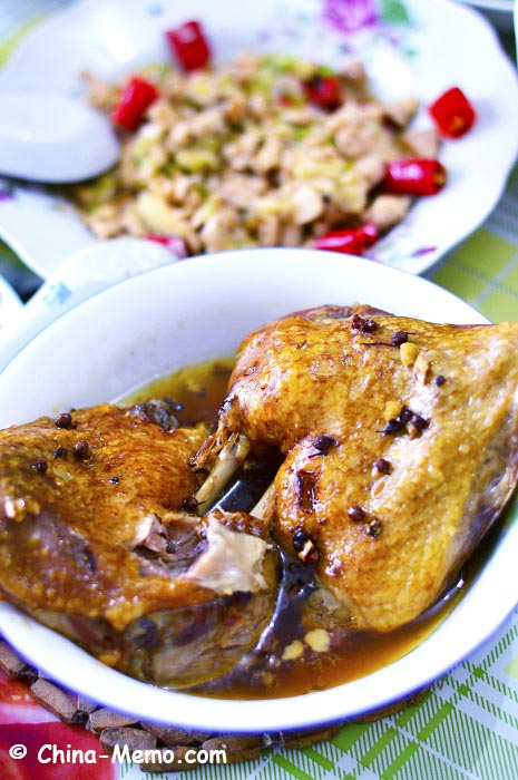 Chinese Steamed Duck by Pressure Cooker
