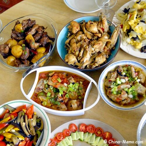 Chinese Steamed Ribs Dishes.
