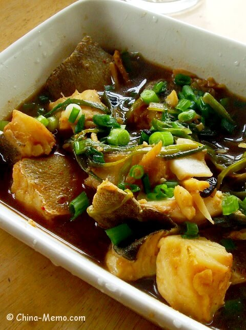 Chinese Oven Cooked Cod