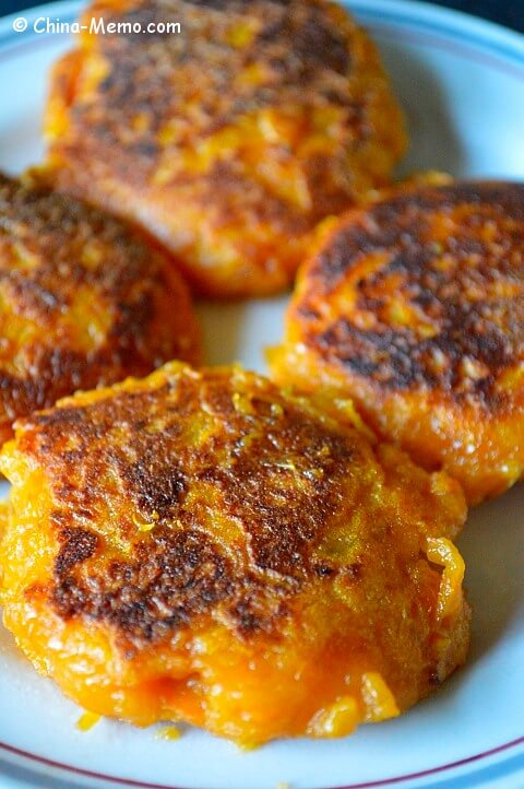 Chinese Sweet Potato Cakes