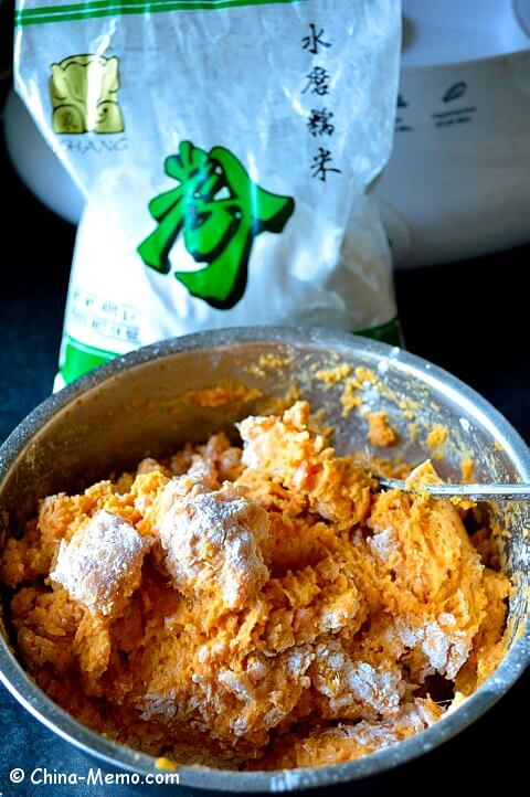 Chinese Sweet Potato & Rice Flour