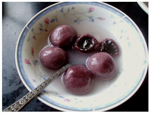 Chinese Sweet Rice Balls