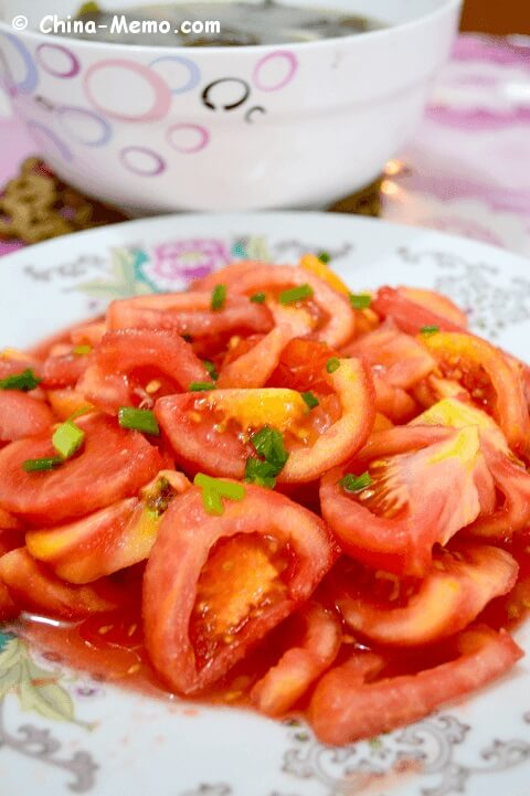 Chinese Sweet Tomato Salad