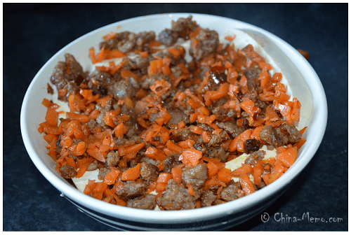 Chinese Meat Carrot & Tofu