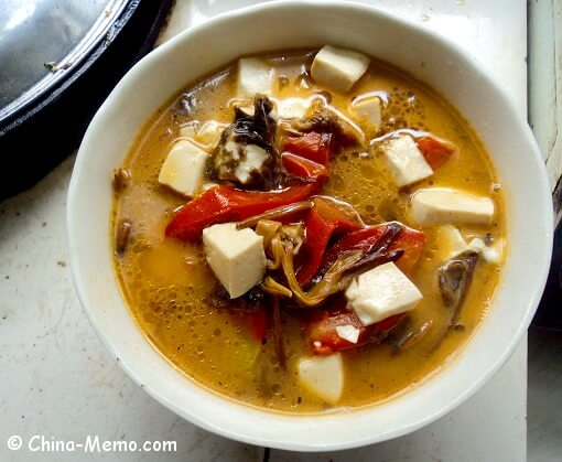 Chinese tomato tofu soup video chinese tomato tofu soup forumfinder Images