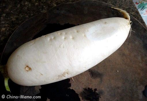 Chinese White Radish
