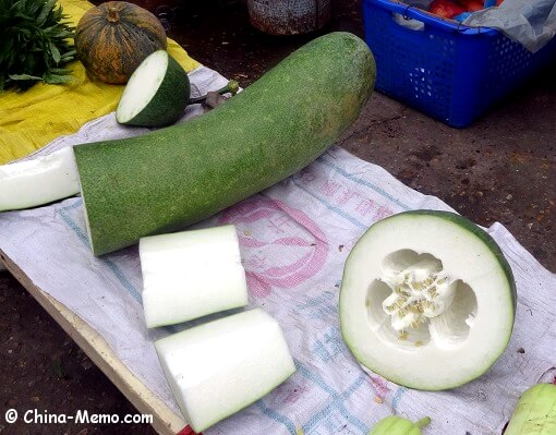 Chinese Winter Melon from local market