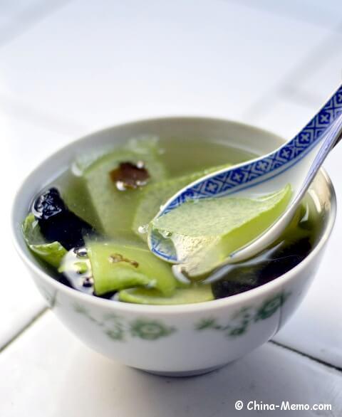 Chinese Wood Ear & Winter Melon Skin Soup