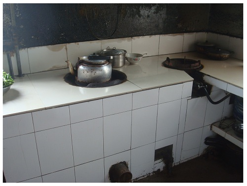 China Hunan  Farmhouse Kitchen.