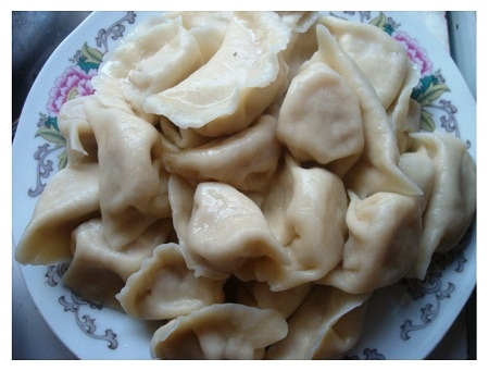 Chinese Boiled Dumplings.