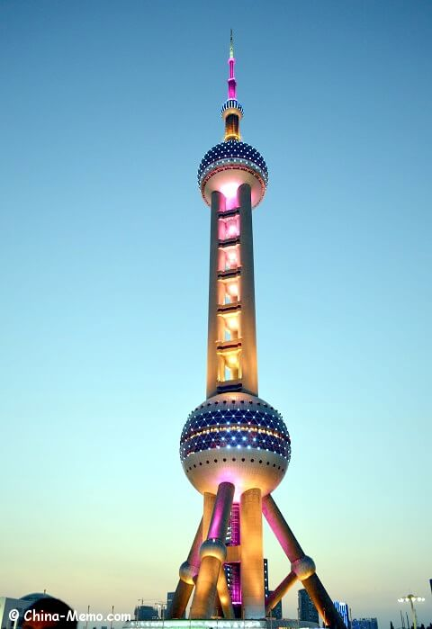 Shanghai Oriental Pearl TV Tower