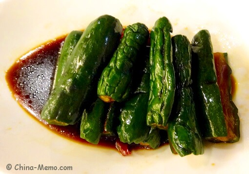 Shanghai Pickled Cucumbers