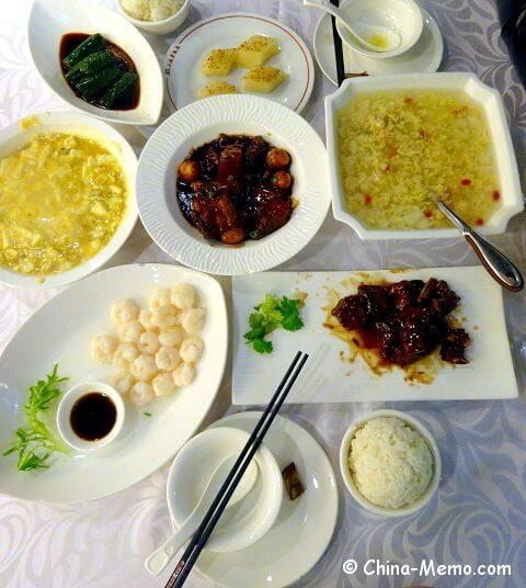 Shanghai Cuisine at Classic Hotel.