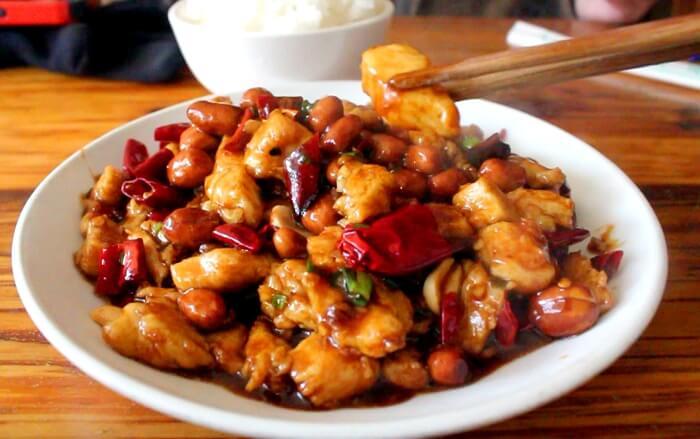 Sichuan Kungpao Chicken