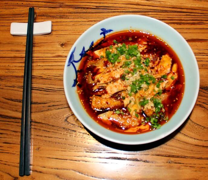 Sichuan Chengdu Mouthwatering Chicken