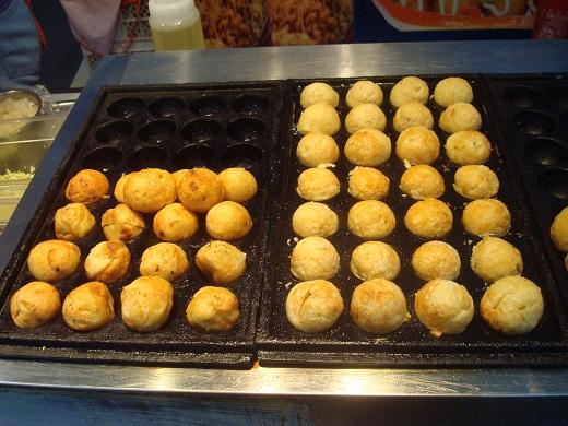 Beijing Olmpic Park Food Japanese Takoyaki.