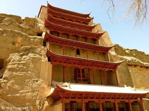 China Gansu Dunhuang Mogao Grottoes