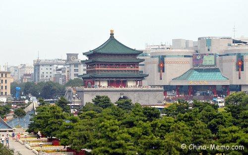 China Xian Bell Tower.