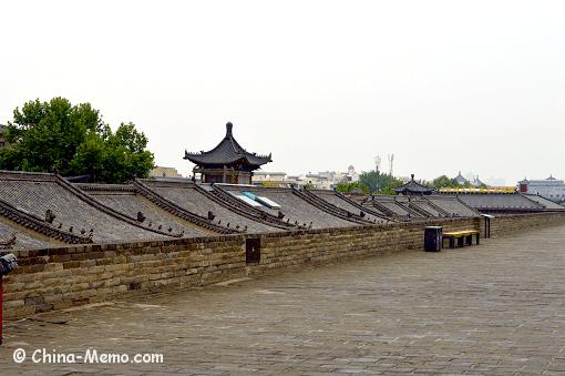 China Xian City Wall