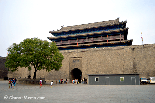 China Xi'an City Wall West Gate
