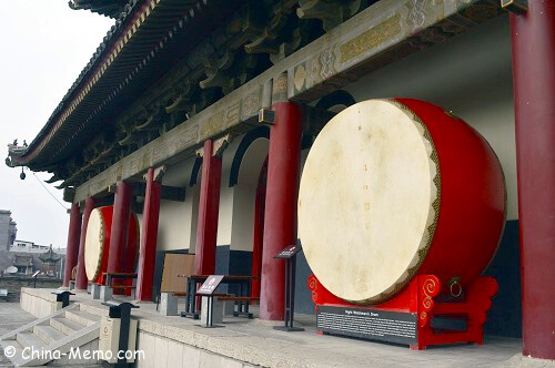 Nightwatch Drum at China Xian Drum Tower.