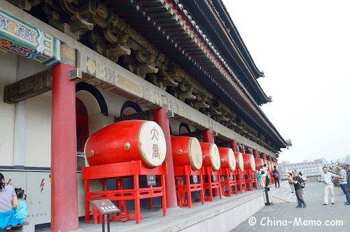 China Xian Drum Tower.