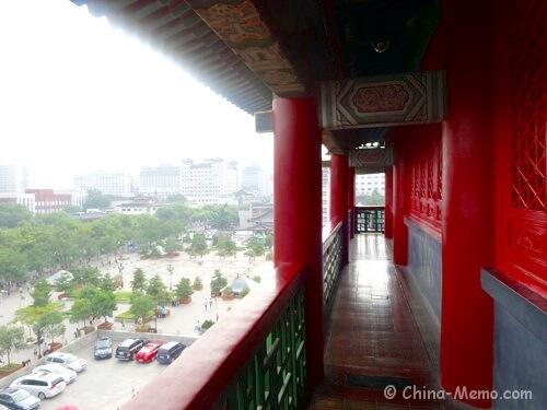 China Xian Drum Tower Top level