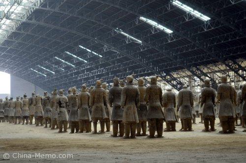 China Xian Terra-Cotta Warriors.