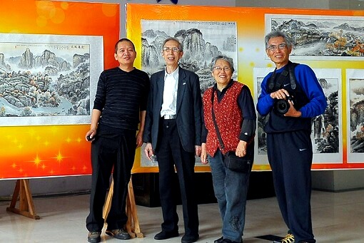 Chinese Painting Artist Mingshu Jing Exhibition