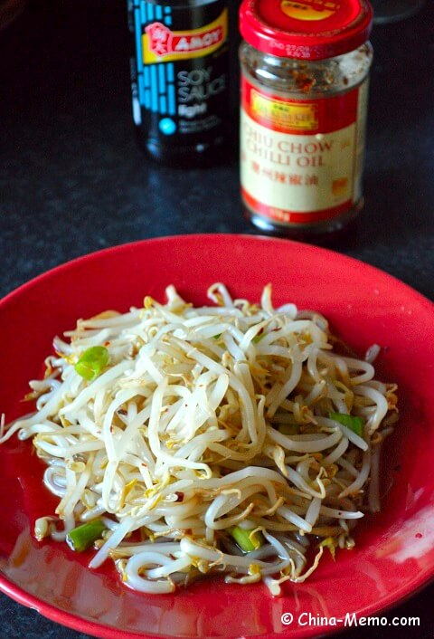 Shichuan Bean Sprout Salad