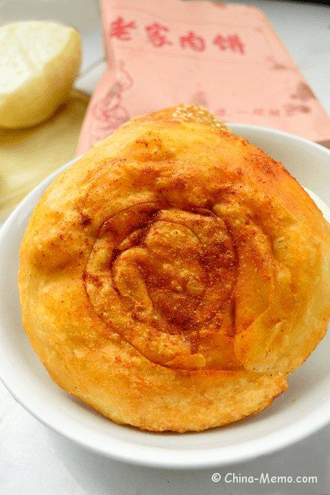 Chinee Breakfast Meat Stuffed Bing