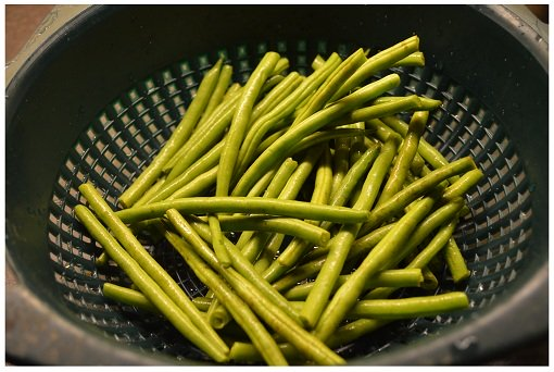 Chinese Cooking Green Beans.