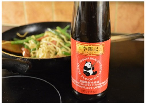 Chinese Cooking Oyster Sauce.