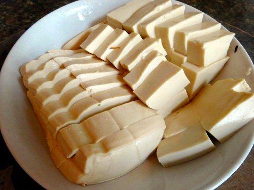 Chinese Cumin Tofu Cut