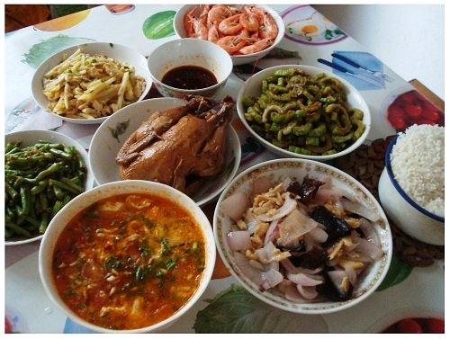 Chinese Family Lunch.