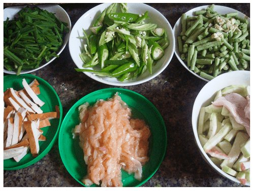 Chinese Daily Meal Prepare.