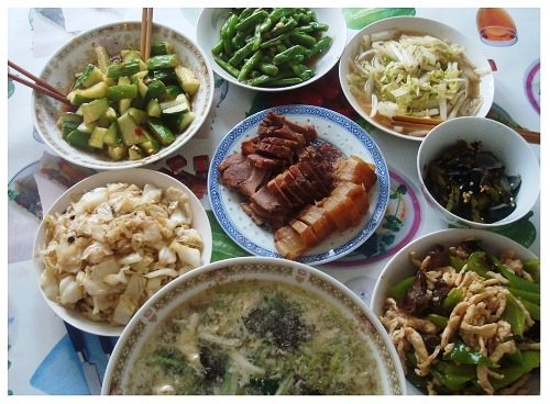 Chinese Daily Meal.