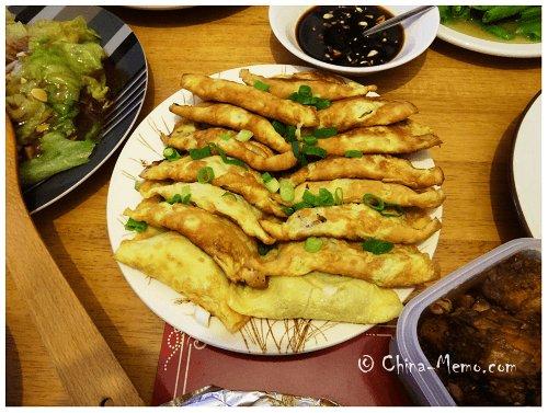 Chinese Egg Dumplings.