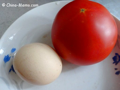 Chinese Egg and Tomato