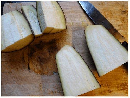Chinese Eggplant Cut.