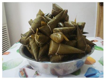Chinese Duanwu Festival Food: Zong Zi