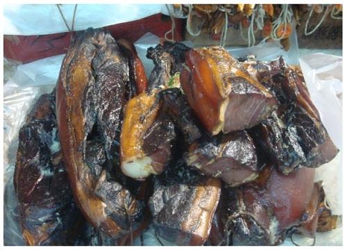China Hunan Preserved Pork.