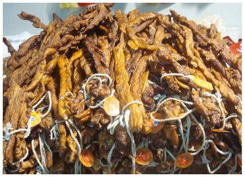 China Hunan Preserved Pig Intestine.