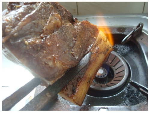 Chinese Prepare Hunan Preserved Pork.