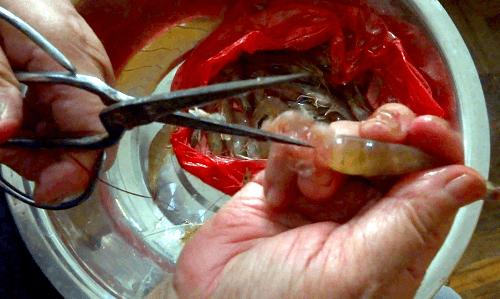 Chinese Jinga Shrimp Cut