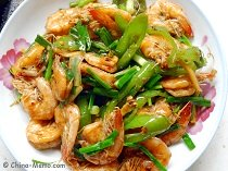 Chinese Spicy Shrimps