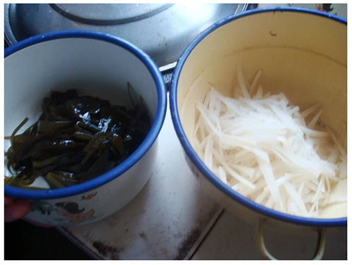 Chinese Kelp and White Radish Threads