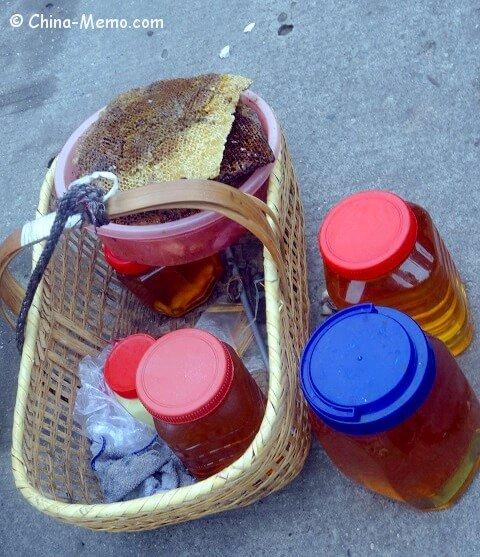 China Local Street Market  Honey