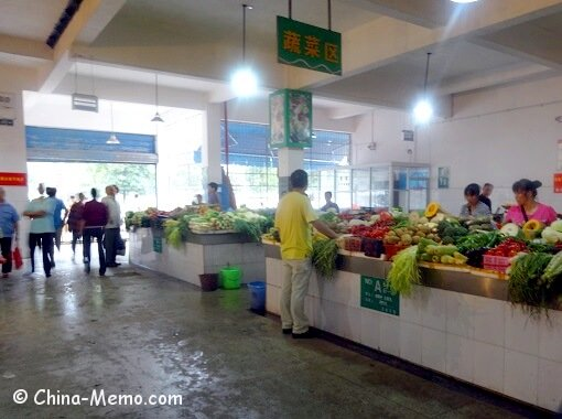 China Local Indoor Food Market